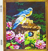 Картина по номерам 40х50, Птицы