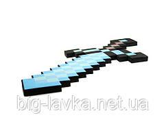 Пиксельный Железный меч Minecraft 45 см