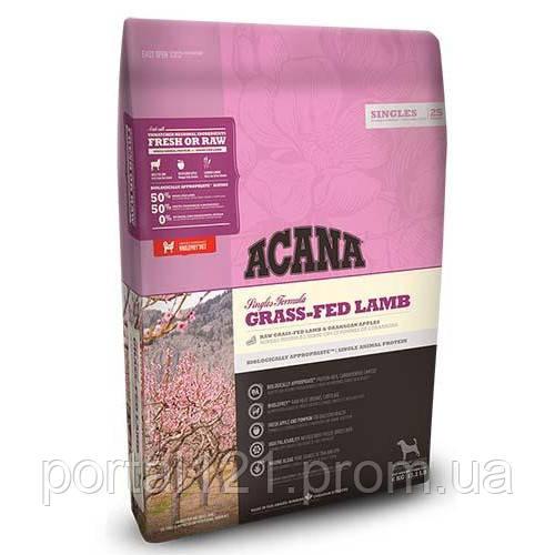 Cухой гипоаллергенный корм Acana Grass-Fed Lamb со вкусом ягненка для собак всех пород, 11.4 кг