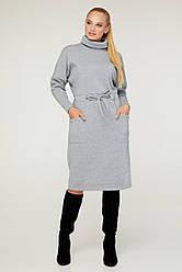 Модное трикотажное женское платье от производителя