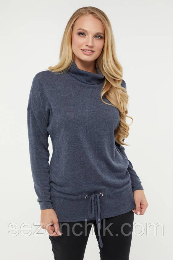 Трикотажный женский свитер хорошего качества