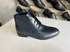 Мужские демисезонные ботинки Ikos размеры 38,39,40,41,42,43,44-45, фото 3