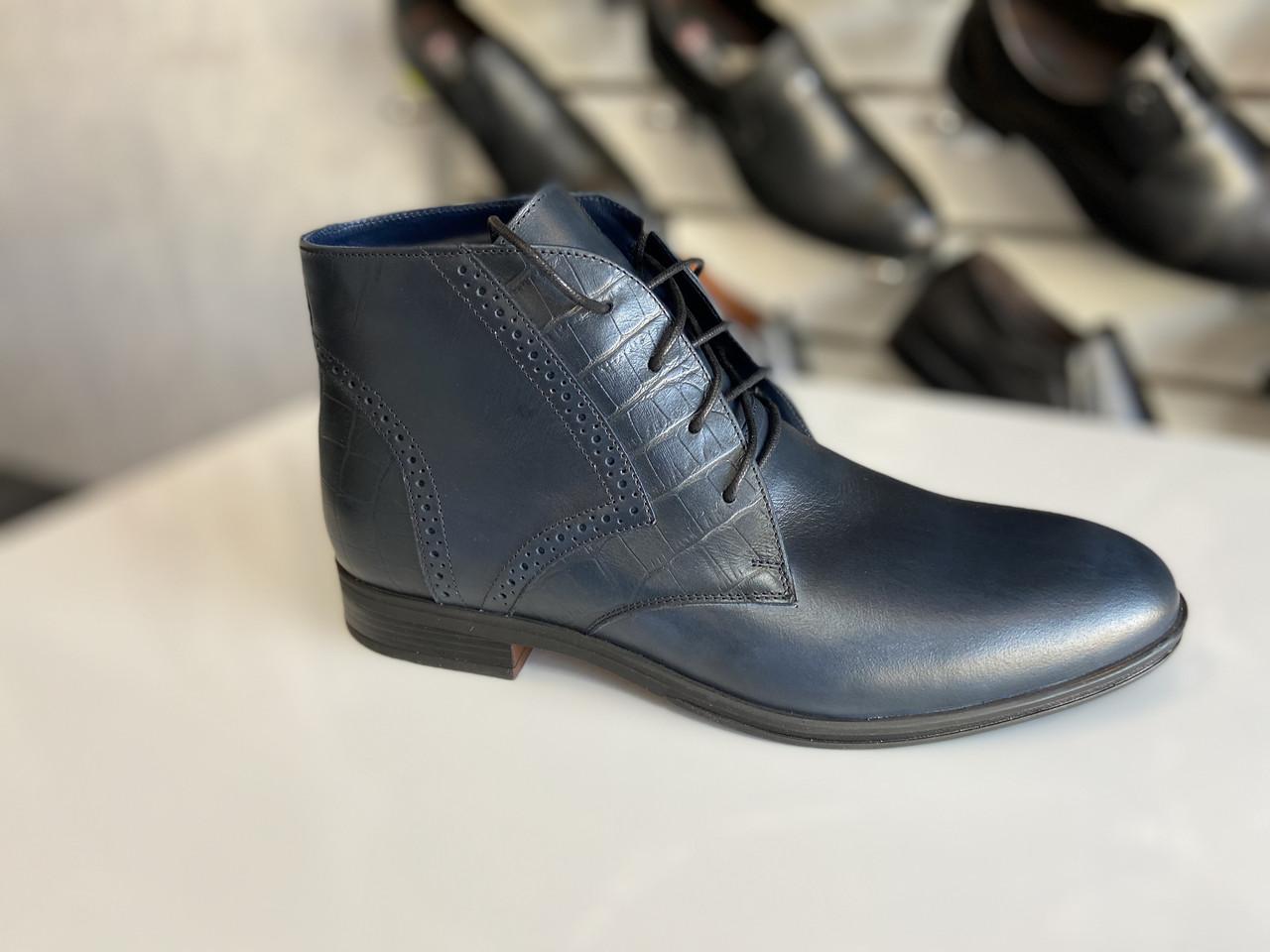 Мужские демисезонные ботинки Ikos размеры 38,39,40,41,42,43,44-45