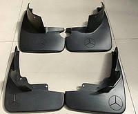 Брызговики Mercedes-Benz ML164 (без порогов) 2005-2012 (4 шт)