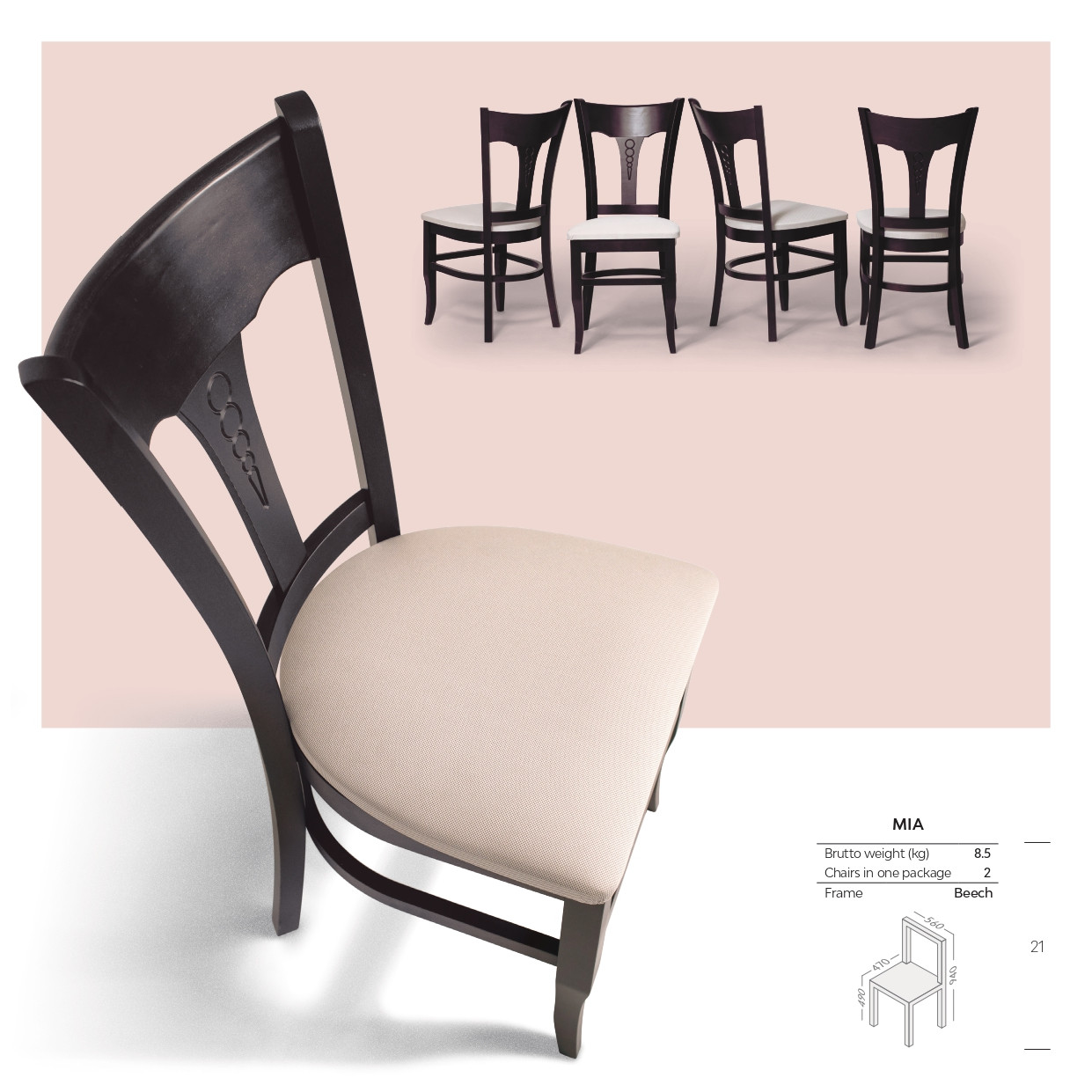 Кухонный стул МИА