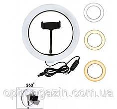 Кольцевая светодиодная LED лампа 26cm Ring Fill Light USB