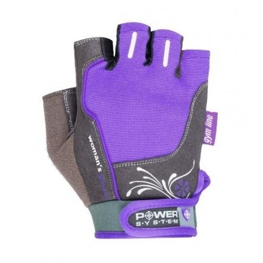 Перчатки для фитнеса и тяжелой атлетики Power System Womans Power PS-2570 Purple XS SKL24-145676