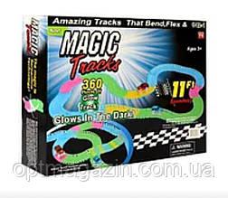 Гоночный трек Magic Track 360 звеней Music Mega Set