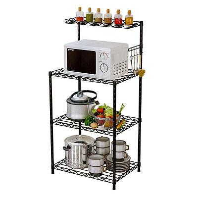 Стелаж кухонний полиця для мікрохвильовки, посуду та аксесуарів