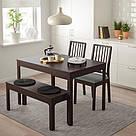EKEDALEN / EKEDALEN, Обеденный стол с 2 стульями и журнальным столиком - ТОП ПРОДАЖ, фото 5