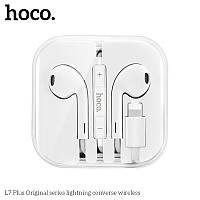Наушники для iPhone HOCO lightning L7 Plus Original Series