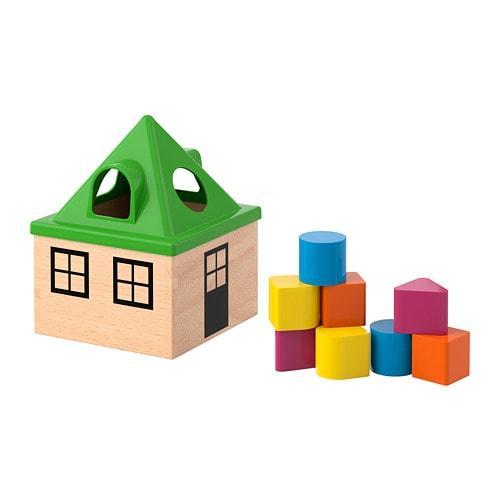 ИКЕА (IKEA) МУЛА, 102.948.89, Коробка д/головоломки, разноцветный - ТОП ПРОДАЖ