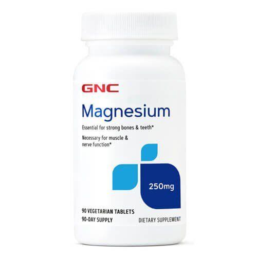 Магний, GNC Magnesim 250 mg 100 таб