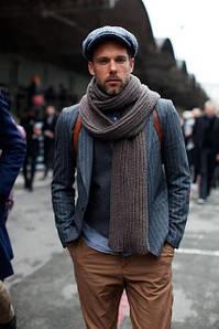 Чоловічі шарфи