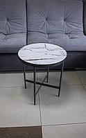 Журнальный столик Signal Dolores C 50X50 см Белый (DOLORESCBSZ), фото 1