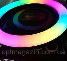 Кільцева лампа 26 см RGB кільцевої світлодіодне led, фото 2