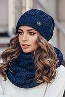 Комплект шапка и шарф-снуд Нота