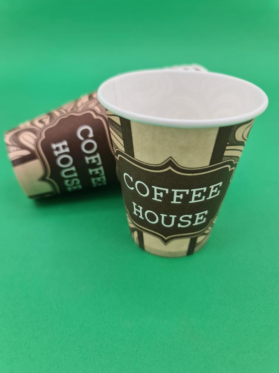 """Стакан для напитков 175мл """"COFFE"""" Маэстро (50 шт)"""