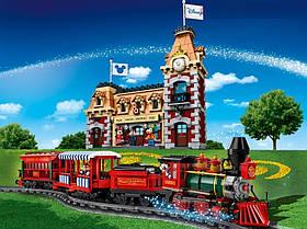 """Конструктор Лари 11442 """"Поезд и станция Дисней"""", 3019 дет."""
