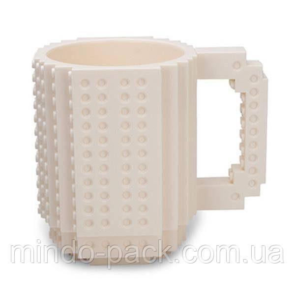 Чашка конструктор Белая