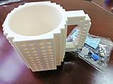 Чашка конструктор Белая, фото 3