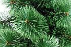 Сосна искусственная Распушенная зеленая 1м, новогодняя зеленая сосна жилка-ПВХ с подставкой, фото 6