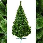 Сосна искусственная Распушенная зеленая 1м, новогодняя зеленая сосна жилка-ПВХ с подставкой, фото 10