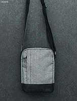 Сумка через плечо Staff gray melange, фото 1