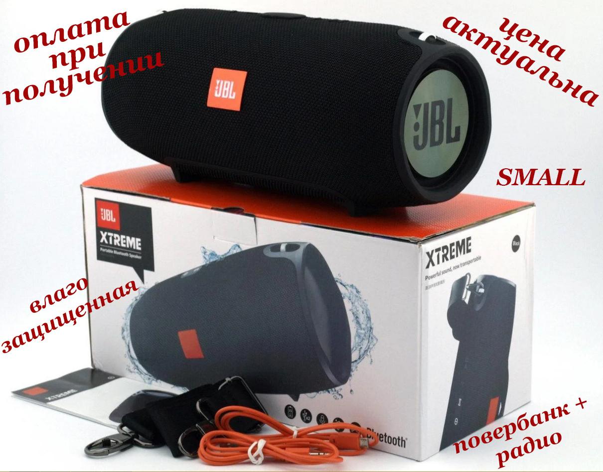 Беспроводная мобильная портативная влагозащищенная Bluetooth колонка с Power Bank радио JBL XTREME SMALL