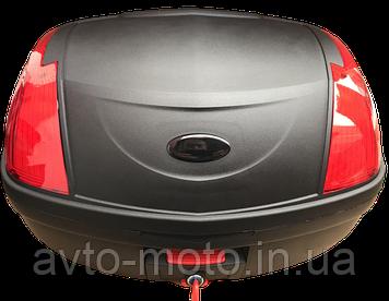 Кофр багажник большой на 2 шлема два катафота (59*42*30см)👍👍👍