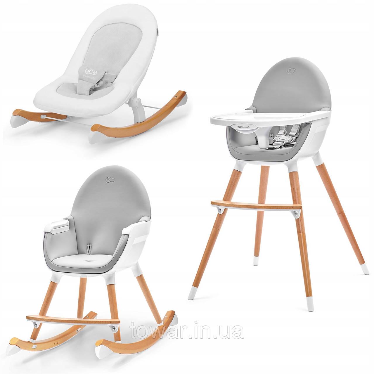 Детский стульчик FINI + кресло-качалка FINIO