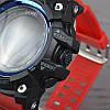 Часы, смарт-браслет Skmei 1188, черный-красный, в металлическом боксе, фото 3