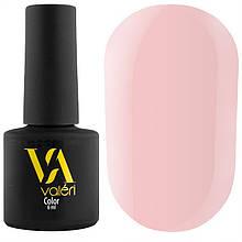 Гель-лак Valeri №001 (нежно-розовый, эмаль), 6 мл