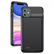 Чехол батарея iPhone 11 4500mAh USAMS US-CD111 Battery Case (4K5CD11101)