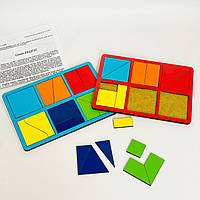 Склади квадрат Нікітіна 1 рівень