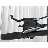 Велосипед черно зеленый TopRider 901 29 дюймов алюминий, фото 2