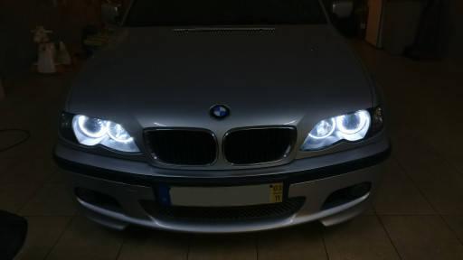 Ангельские глазки (4*131 мм) CCFL для BMW E36 белые, фото 2