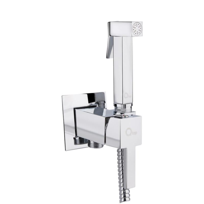 Набор для гигиенического душа Q-tap Inspai-Varius V00440201 CRM встроенного монтажа