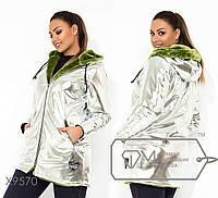 Зимняя куртка женская батал р.48-56 Фабрика Моды XL