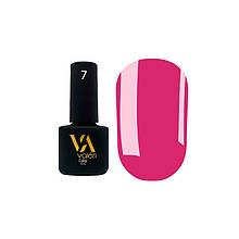 Гель-лак Valeri №007 (яркий розовый, эмаль), 6 мл