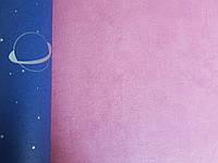Обои флизелиновые Decoprint 21138 Sweet Dreams детские ярко розовые однотонные структурные 0,53x10,05 м
