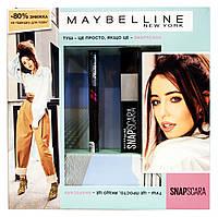 Набор Maybelline New York SnapScara (тушь для ресниц черная + подводка-фломастер для век Hyper Precise)