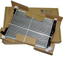 Радиатор основной Ланос 1.4-1.6 без кондиционера МКПП, YMLZX, YML-R206, 96351263, 96181931