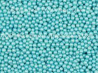 Декоративные жемчужины - Werner - Голубые Ø5 - 200 г