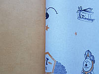 Обои флизелиновые эко Decoprint 21139 Sweet Dreams детские однотонные ярко желтые под штукатурку0,53x10,05 м