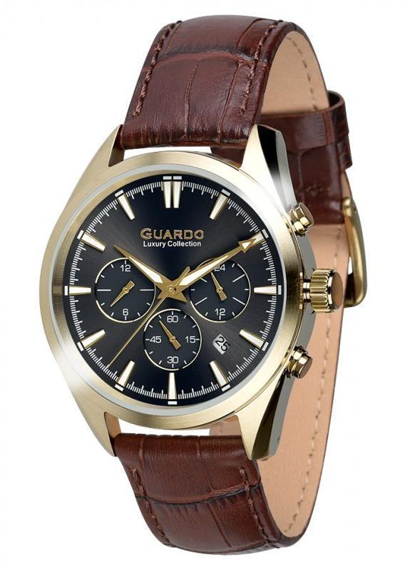 Часы Guardo S01662 GBBr