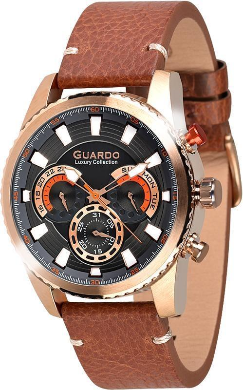 Часы Guardo S01896 RgBBr