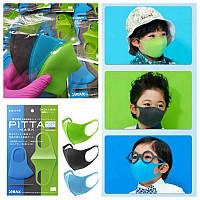 Маска защитная питта детская 1 шт. Маска для лица из неопрена (многоразовая) для детей