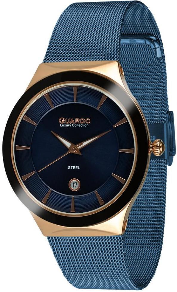 Часы Guardo S02101(m) RgBlBl