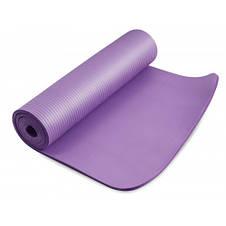 Фитнес коврик тренировочный HS-N010GM 1 см violet, фото 2